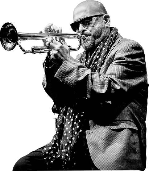 Stéphane Belmondo en concert au St Hil Jazz Festival