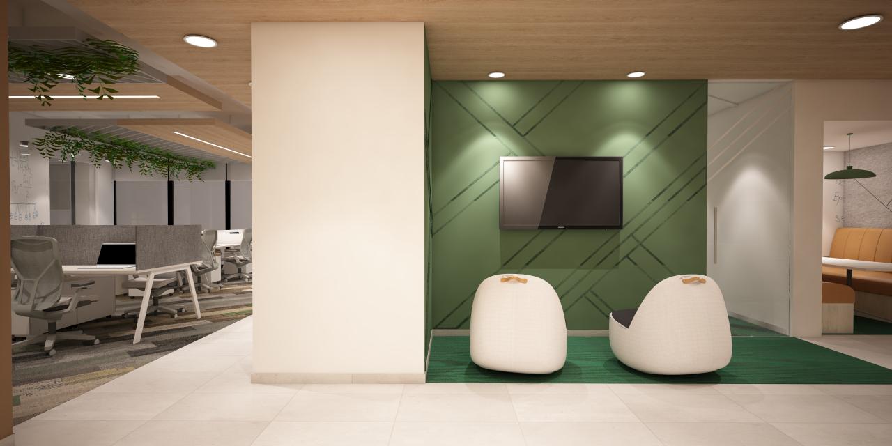 diseño de interiores corporativo