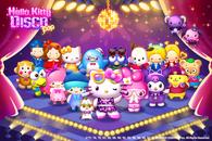 Facebookインスタントゲーム『Hello Kitty Disco Pop』 新キャラの追加など大型アップデート実施!
