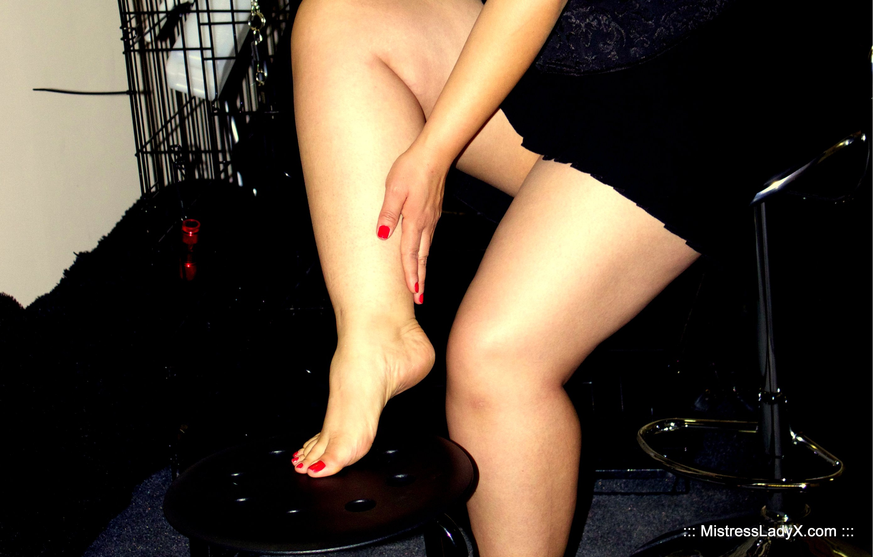 Mistress Lady X, Foot Fetish