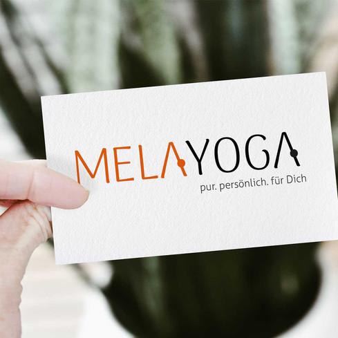 gestaltung eines Logos und Claims für Yoga Lehrerin
