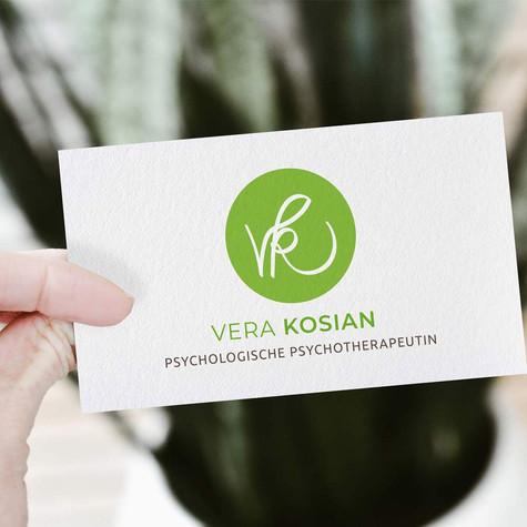 Ein erfrischendes Logo-Design für Vera Kosian, Psychologische Psychotherapeutin .jpg