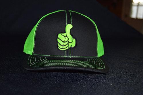 Green Logo snapback