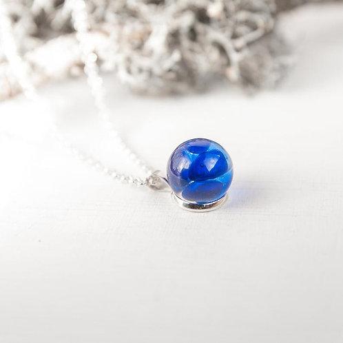 Blue Drop Necklace