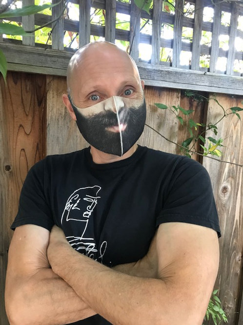 Beard Decorative Neopene Mask (non-medical)