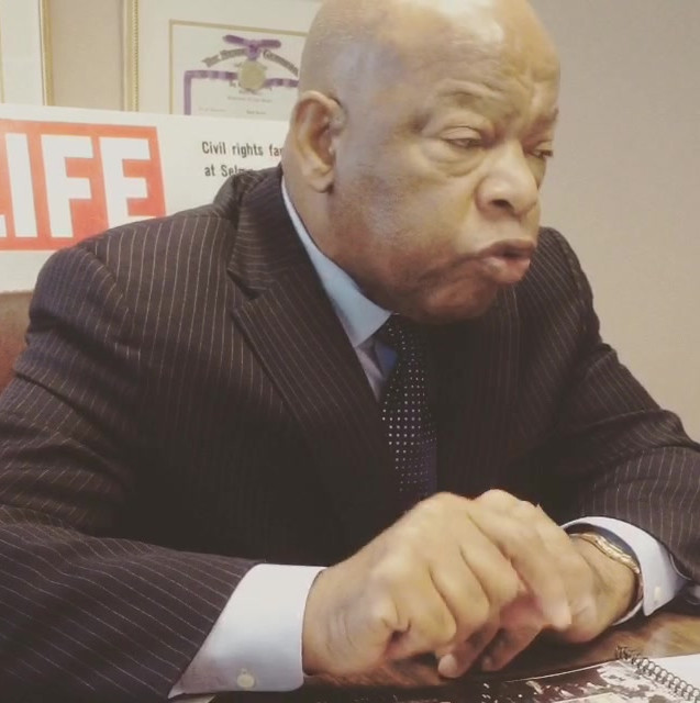CONGRESSMAN JOHN LEWIS GREAT COMMISSION
