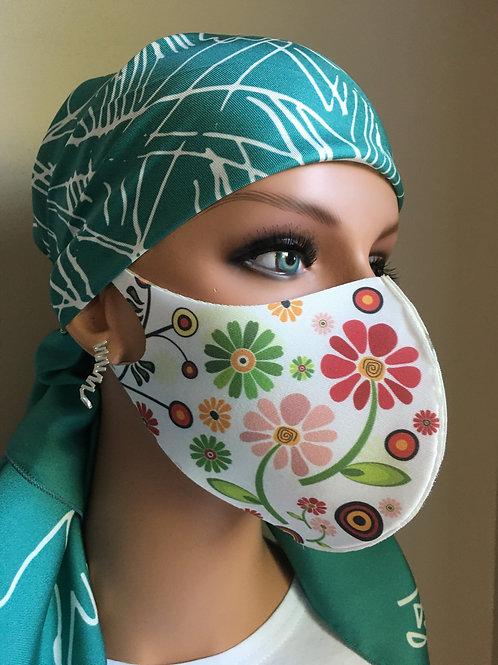 Gerbera Decorative Neopene Mask (non-medical)