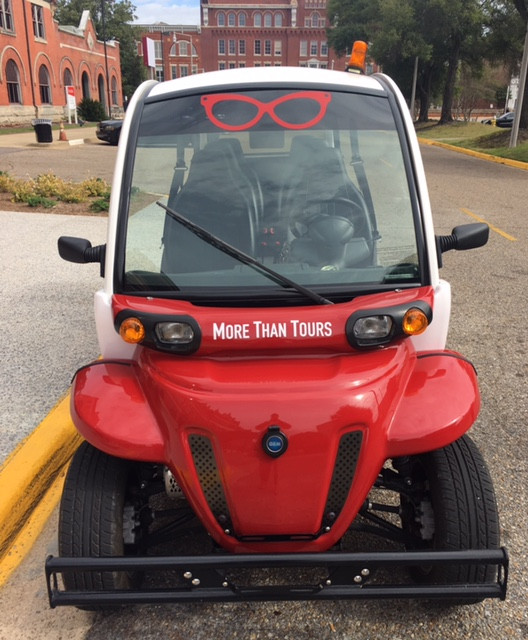 MORE THAN TOURS CARTS SETTING CAPACITY 5 FOR EXCLUSIVE TOURS