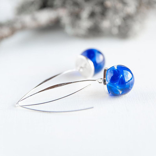 Blue Drops Earrings