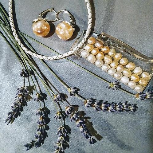 Natural Pearl Balls Earrings