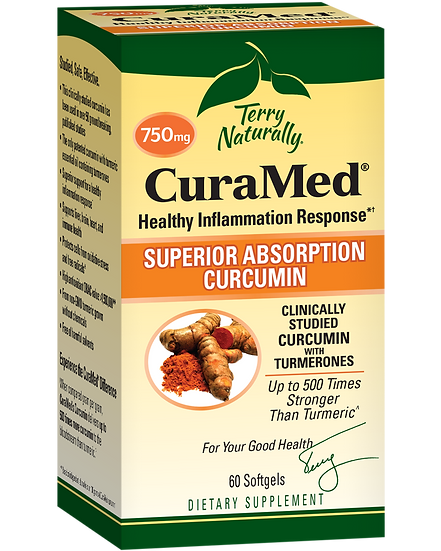 Terry Naturally CuraMed - 750 mg (60 softgels)