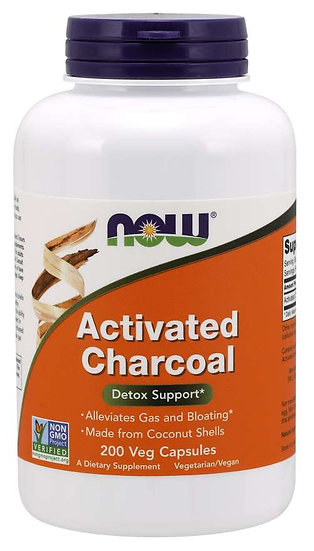 Activated Charcoal (200 Veg Caps)