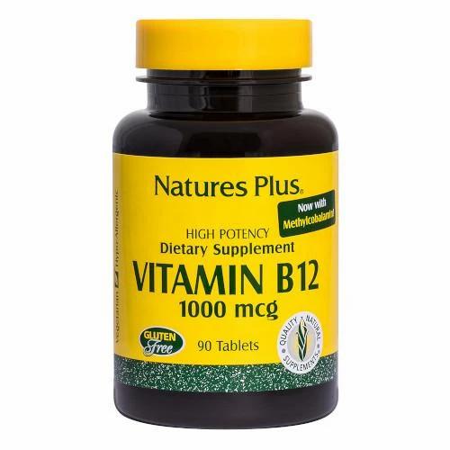 Natures Plus Vitamin B12 1000mcg