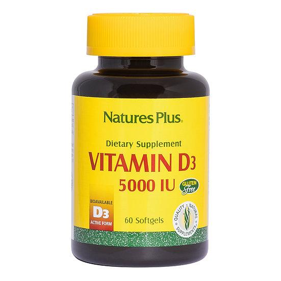 Vitamin D3 5000 IU Softgels
