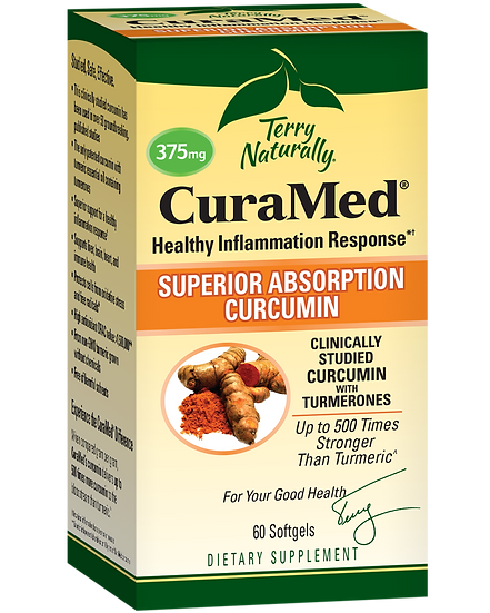 Terry Naturally CuraMed - 375 mg (60 soft gels)
