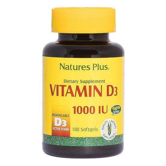 Vitamin D3 1000 IU Softgels