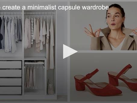How to create a Minimalist capsule wardrobe
