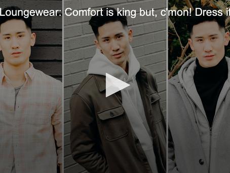 Men's Loungewear (aka how to dress up your sweat pants)