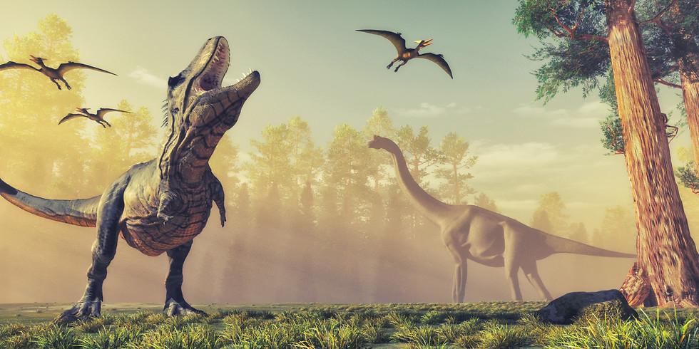 Dinosaur themed breakfast