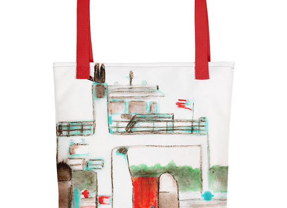 Drummond Island Ferry Tote bag