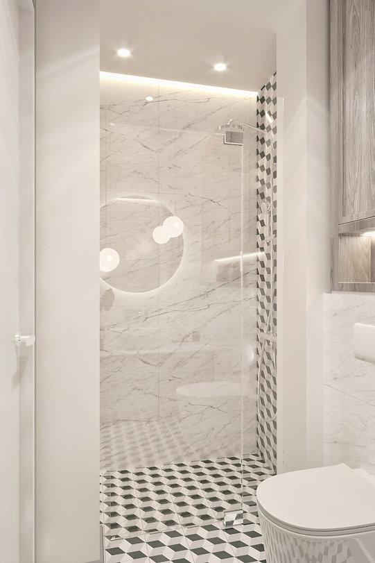 Prysznic w kamienicy