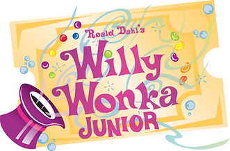Willy Wonka Color Ticket Logo