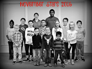 November Star Students!