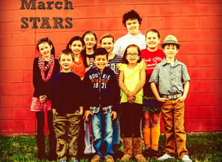 Centerstage Star Students for March 2014!