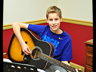 Student Spotlight on Tommy Johnson!
