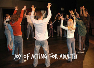 Joy of Acting for Adults!