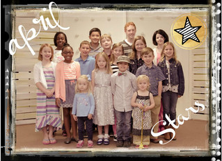 Centerstage Star Students for April 2014!