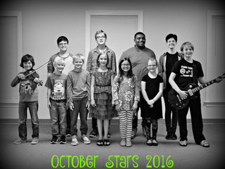 October Star Students!