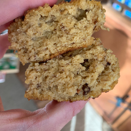 Healthy Pumpkin Banana Nut Muffins