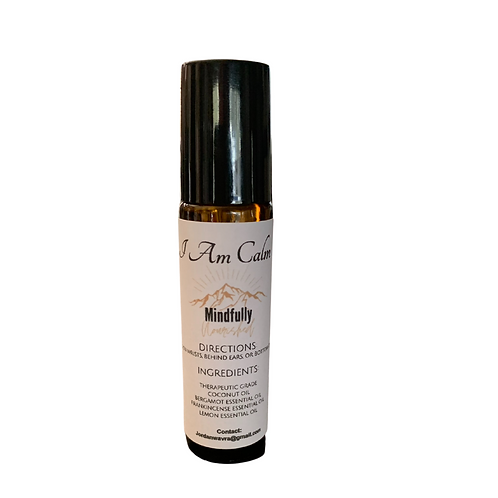 I Am Calm Essential Oil Roller