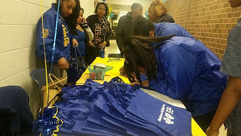 Thanks to the undergrad sorors from Xi Upsilon chapter who helped all day with registration.jpg