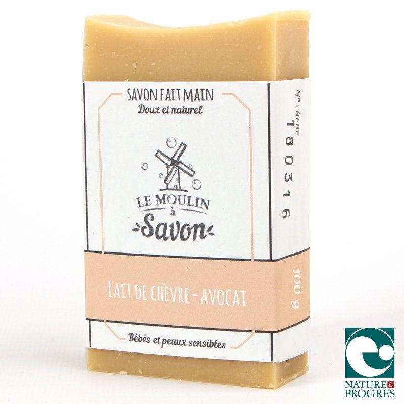 Savon Lait de Chèvre & Avocat