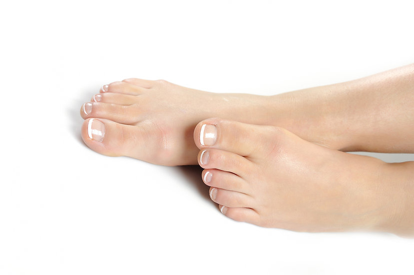 Limage des ongles (pieds)