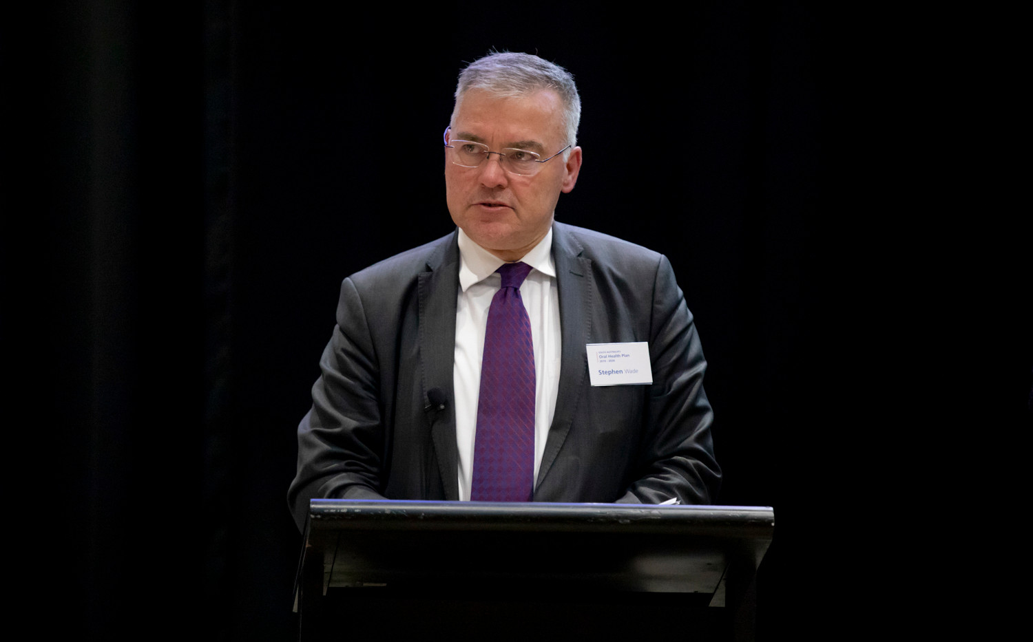 Honourable Stephen Wade MLC became South Australia's Minister for Health and Wellbeing