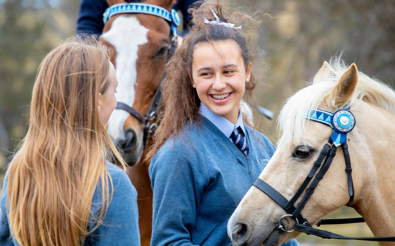 Cornerstone College Horse Riding