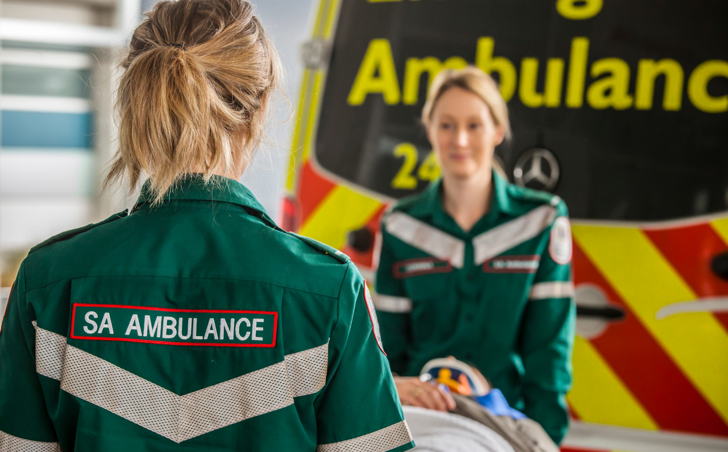 South Australian Ambulance Officers