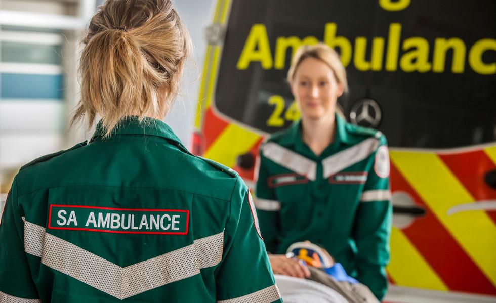 South Australian Ambulance Officers
