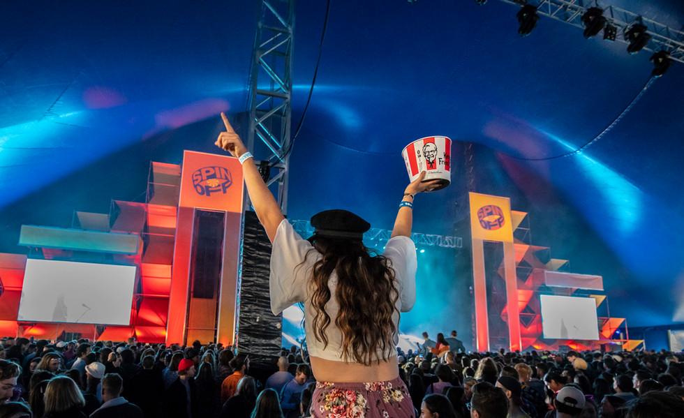 KFC Spin Off Festival Adelaide