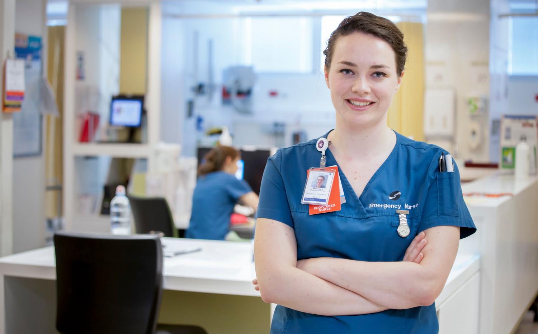 ER nurse, Emergency Room nurse