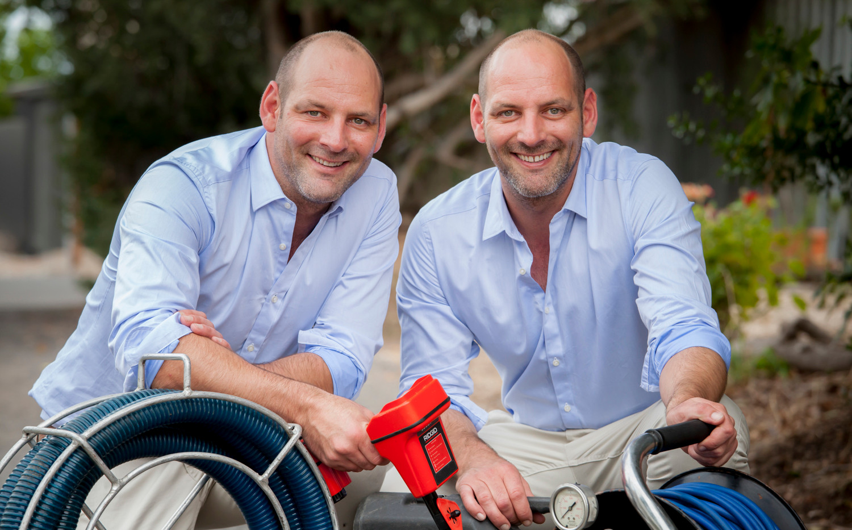 corporate head shot for Twin Plumbing