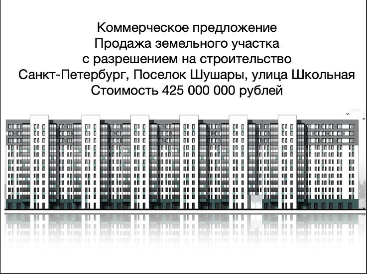 Санкт-Петербург, Шушары, ул. Школьная