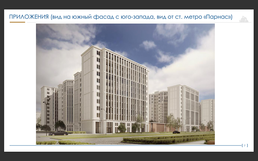 Санкт-Петербург, ул. Михаила Дудина д.15 к1, Жилой дом и Гостиницы
