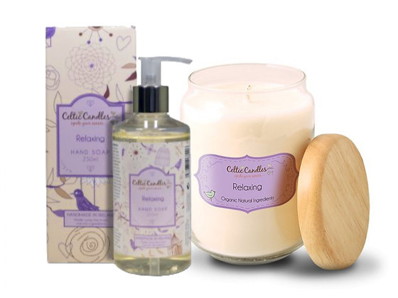 Celtic Candle & Hand Lotion