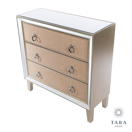 Hayden mirrored dresser 3 drawer