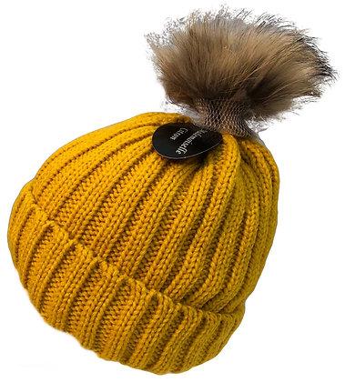 Beanie Hat w Bobble