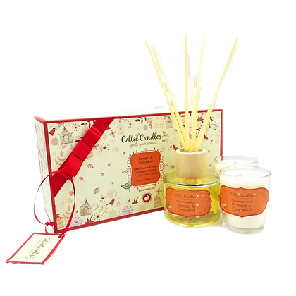 Celtic Candle Gift Box
